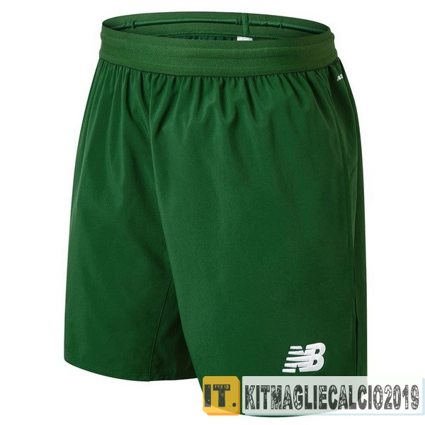Negozi Online Calcio New Balance Away Pantaloncini Celtic 18-19 Verde