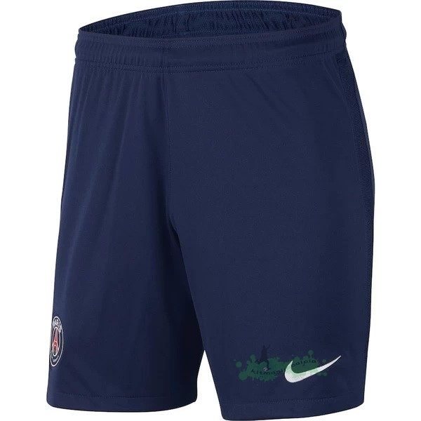 Negozi Online Calcio Nike Home Pantaloni Paris Saint Germain 2020 2021 Blu